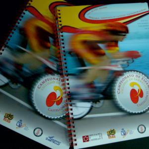 Libros campeonato ciclismo en Wire-O