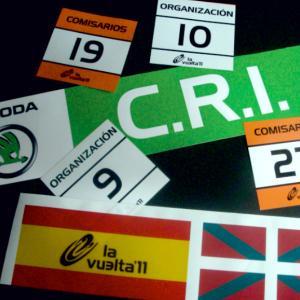 Vinilos Vuelta Ciclista a España